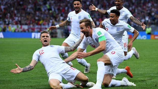 Даже табло британского вокзала отреагировало на вылет сборной Англии с ЧМ-2018