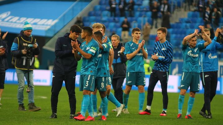 Зенит - чемпион. Петербуржцы победили Краснодар со счётом 4:2
