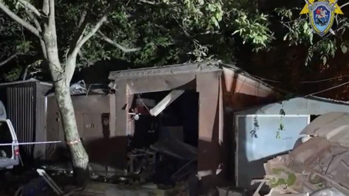 В Краснодаре после взрыва в гаражном боксе, где один человек погиб, двое – пострадали, завели дело
