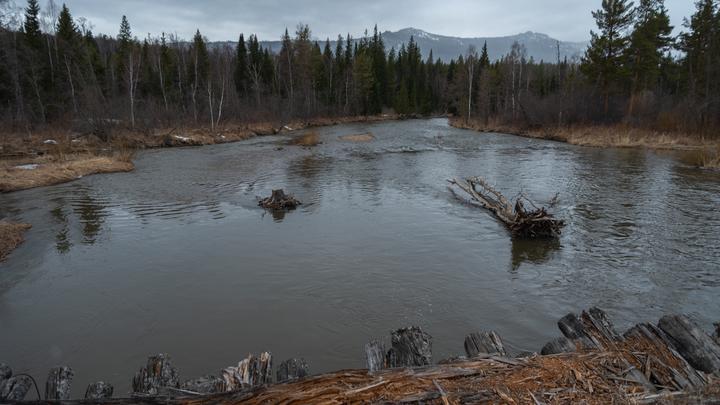 Река Юрюзань побила рекорд весеннего паводка за 13 лет