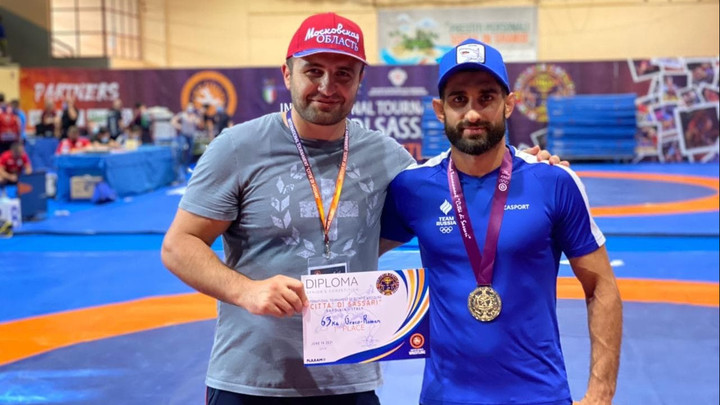 Подмосковные борцы завоевали 7 медалей на международном турнире