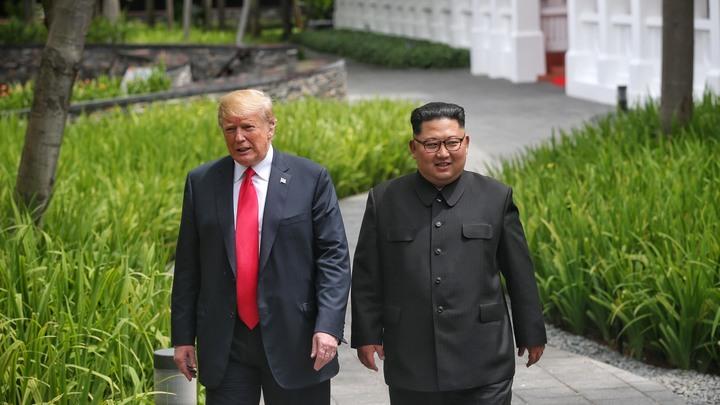 Ким Чен Ын поговорил с Трампом о правах человека в КНДР