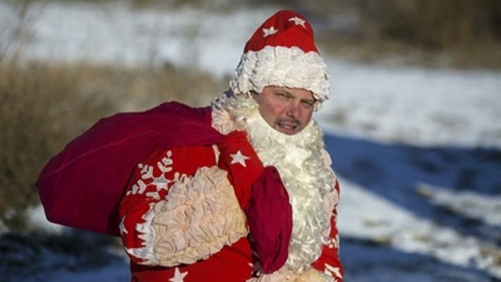 ″Дедушка, на выход!″: В Екатеринбурге за фото с детьми из парка выгнали Деда Мороза