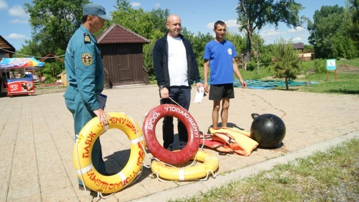 В Новокузнецке открыты пять пляжей и мест для отдыха у воды