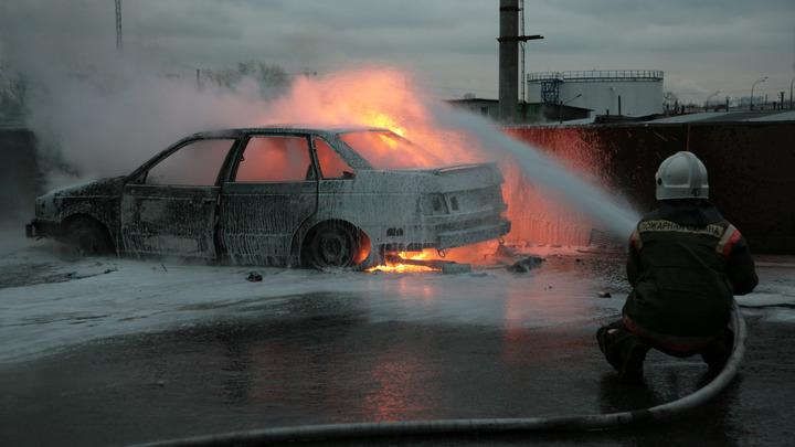 Поджигателей автомобилей в Химках вычислили по видеокамерам