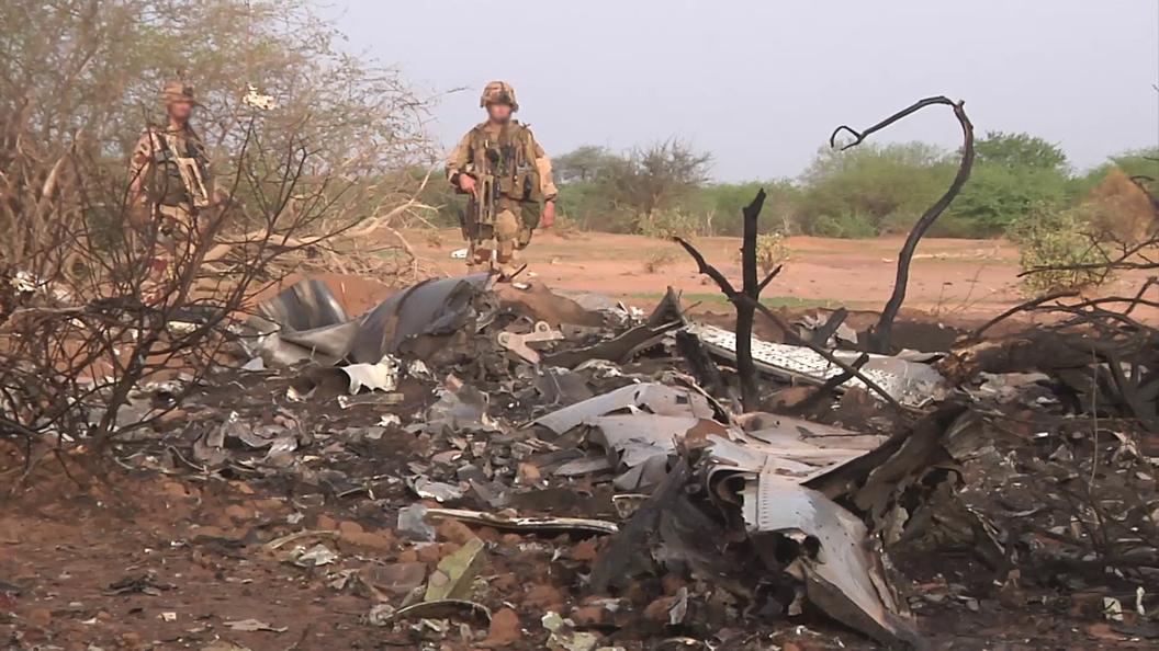 Военный вертолет Германии рухнул на севере Мали
