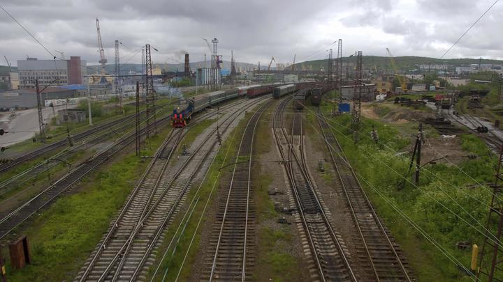 По железной дороге в обход Украины первыми пустят грузовые поезда