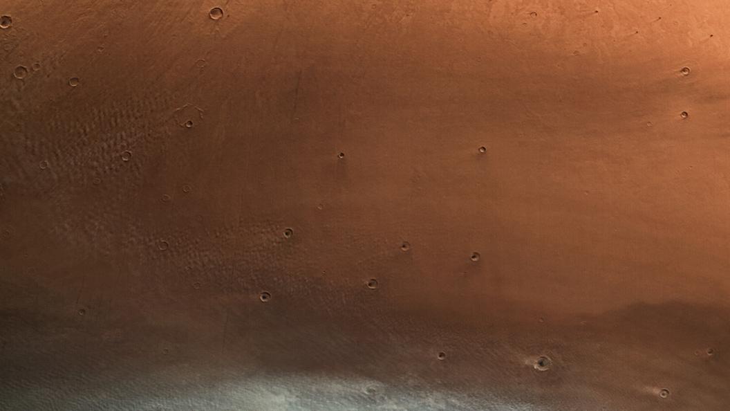 Сног наголову: размещено новое фото Марса
