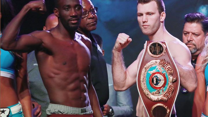 Три боя, три взвешивания: UFC, Тайсон Фьюри и Кроуфорд - Хорн