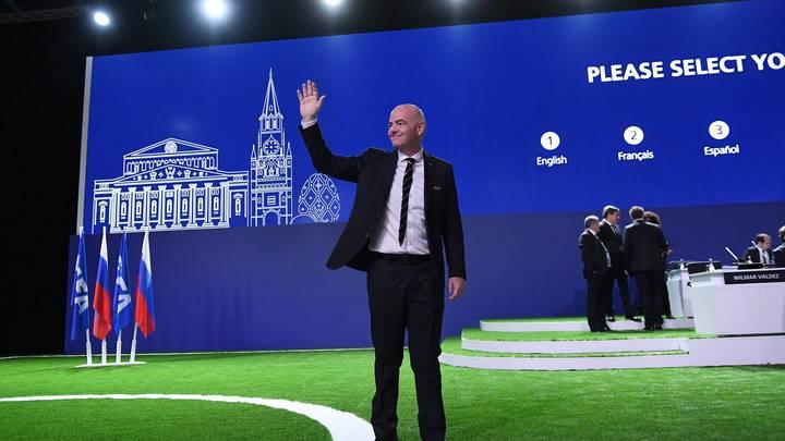 Инфантино пойдёт на новый срок в ФИФА