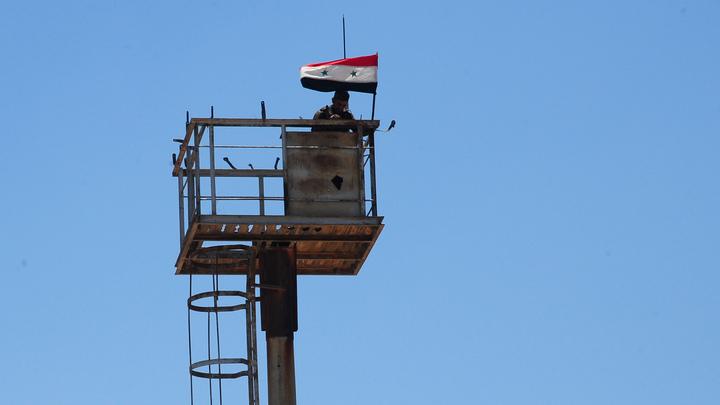 Над освобождённым отбоевиков городом Тофас подняли флаг Сирии