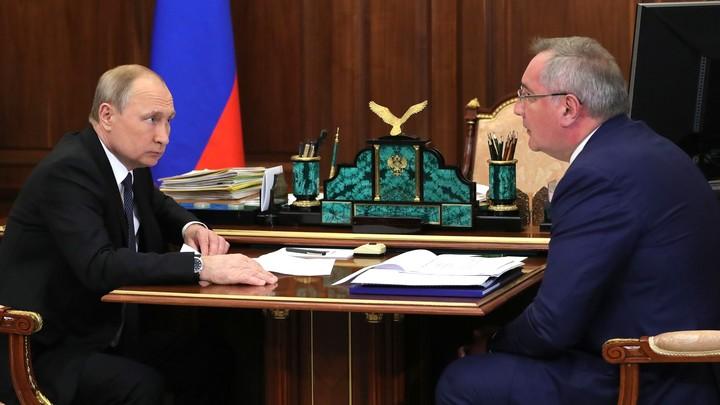 Дроны и орбитальная группировка: Рогозин рассказал, как контролирует строительство Восточного