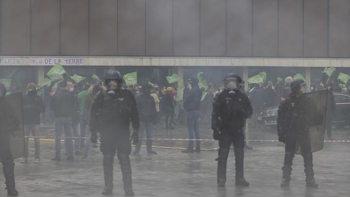 Газ, избиения, бунт: В Париже полиция мирно общается с манифестантами