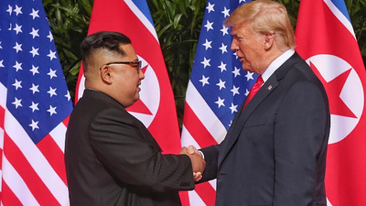 «Мы были жестоки. А потом влюбились друг в друга»: Трамп разоткровенничался об отношениях с Ким Чен Ыном