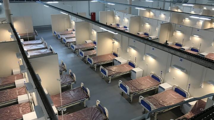 «Ленэкспо лучше, чем палатки»: в госпитале развернут еще 1154 коронавирусные койки