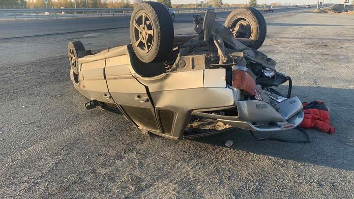 Под Челябинском пьяный на Audi врезался в Ладу с 5-летним ребенком