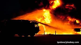 Пожар в Благовещенске начался с отделения неврологии