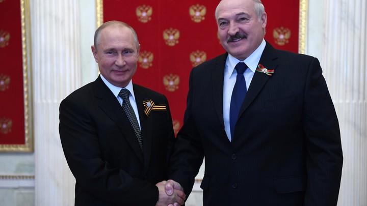 Названа дата встречи президентов России и Белоруссии