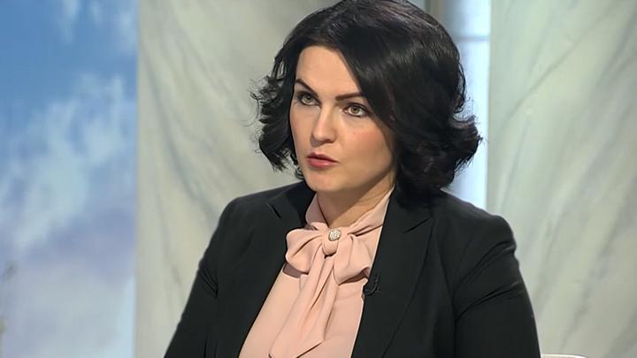Анна Кувычко. Фото: Телеканал Царьград