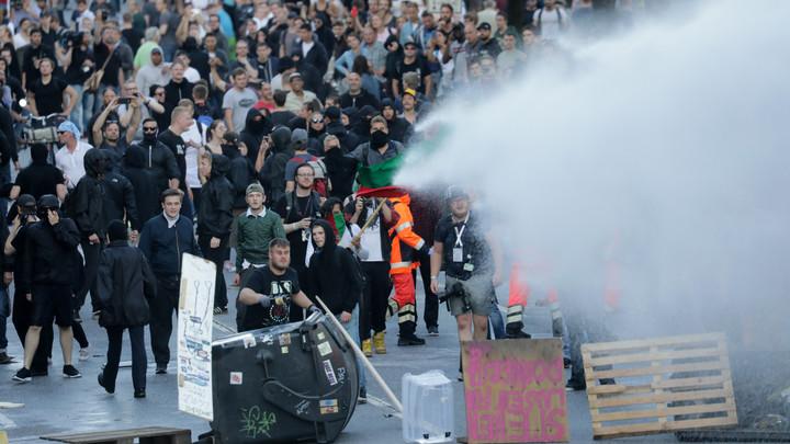 Полиция и антиглобалисты готовятся к столкновениям в Гамбурге в рамках Адского пикника