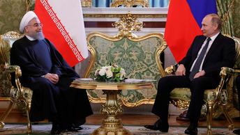 Россия-Иран: Путин и Роухани провели пресс-конференцию
