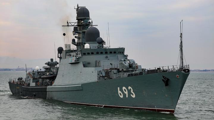 Россия перебрасывает в Чёрное море Каспийскую флотилию и морскую пехоту