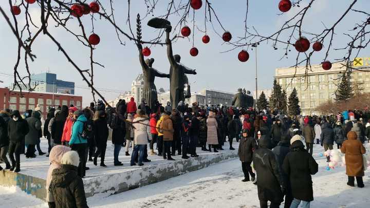 В Новосибирске анонсировали новую акцию сторонников Навального