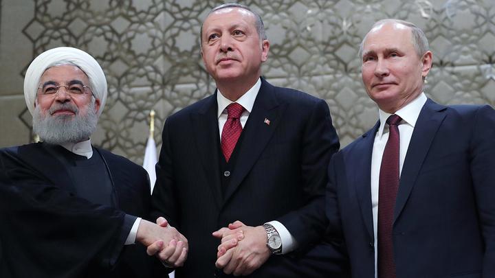 Путин: Россия, Турция и Иран снизили насилие в Сирии