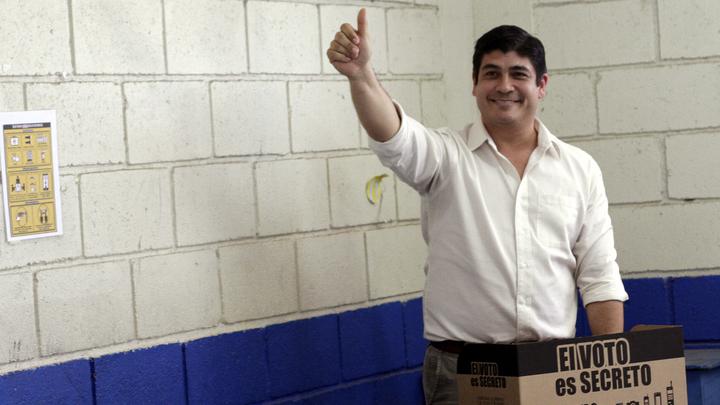 В Коста-Рике правящая партия сохранит за собой пост президента еще на 4 года
