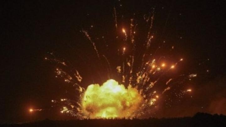 Нас бомбит Россия: Взрывы в Чернигове пытались выставить в нужном свете