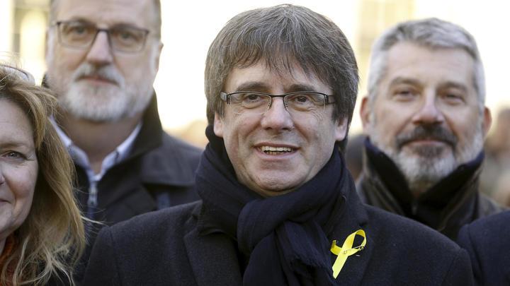 Карлес Пучдемон, находясь в Бельгии, начал каталонскую избирательную кампанию