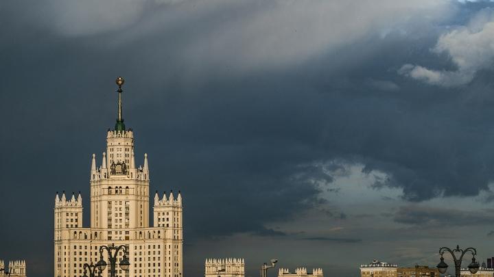 Впервые такое вижу! Что ж будет то?: После Киева и Минска новой жертвой суперурагана стала Москва