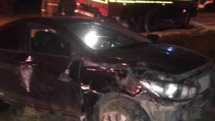 В Вичуге пьяный водитель без прав врезался в столб