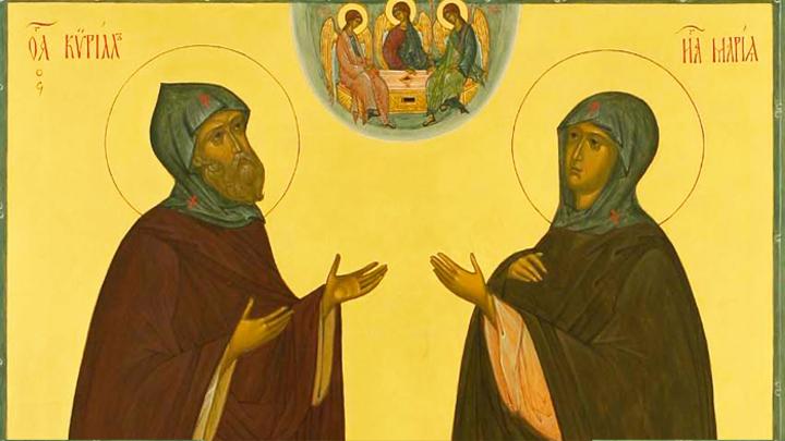 Преподобные Кирилл и Мария Радонежские. Православный календарь на 31 января
