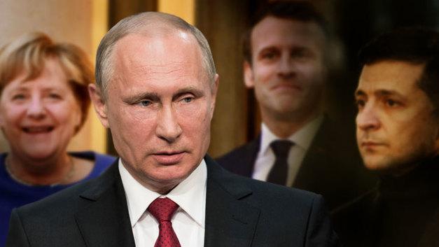 Зеленский мечтает «повзрослеть», Макрон — заменить Меркель. А что хочет Путин?