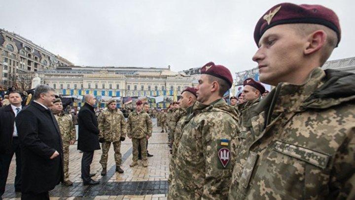 На Украине гордое ВДВшник сменилось издевательским ДШВшником