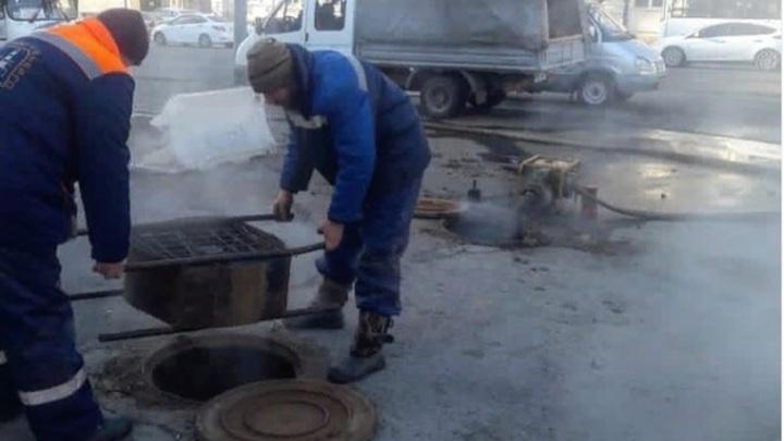 В одном районе Ростова-на-Дону за сутки произошло свыше двух десятков коммунальных аварий