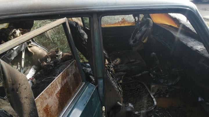 Еще две машины сгорели этой ночью в Иванове