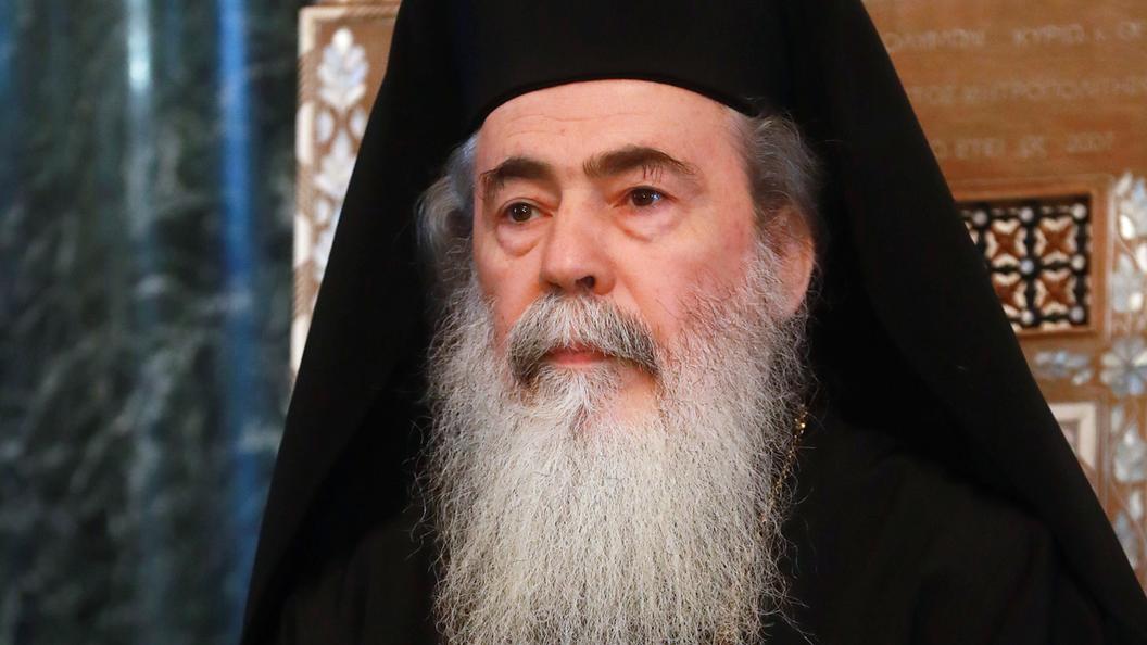 Слово патриарха Иерусалимского: Гонители Церкви на Украине - преступники