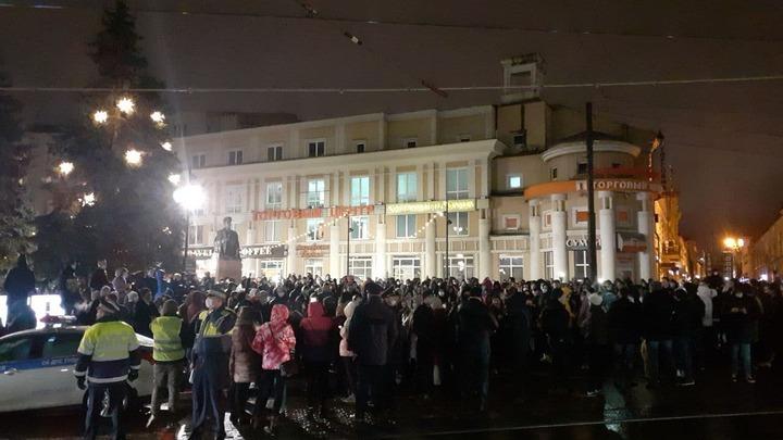 Власти Нижнего Новгорода назвали число участников несогласованной акции в поддержку Навального