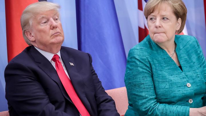 Германия попросит США ослабить санкции против России ради немецкого бизнеса