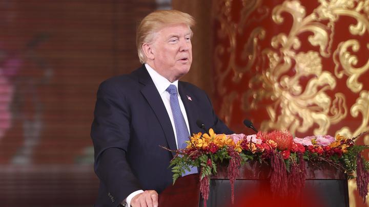 Трамп пострался уйти от резких заявлений о военном решении конфликта с КНДР