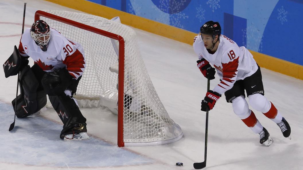 Хоккей наОлимпиаде-2018: Канада проиграла Чехии всерии буллитов