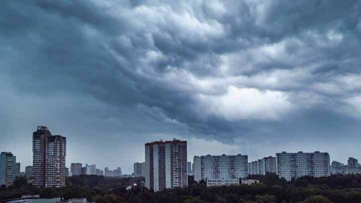 На Кузбасс надвигаются многодневные дожди