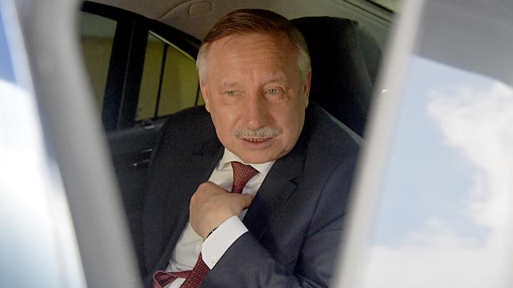 Губернатор Беглов стал карикатурой на мэра Собянина