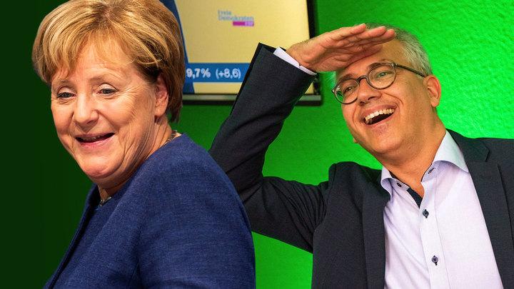 Меркель собирает чемоданы