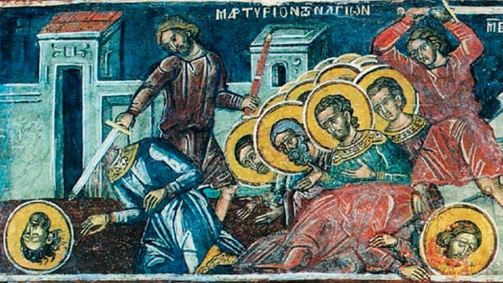Амморейские мученики. Православный календарь на 19 марта