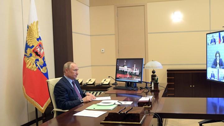 Совещание Путина с правительством и регионами: Конкретные решения