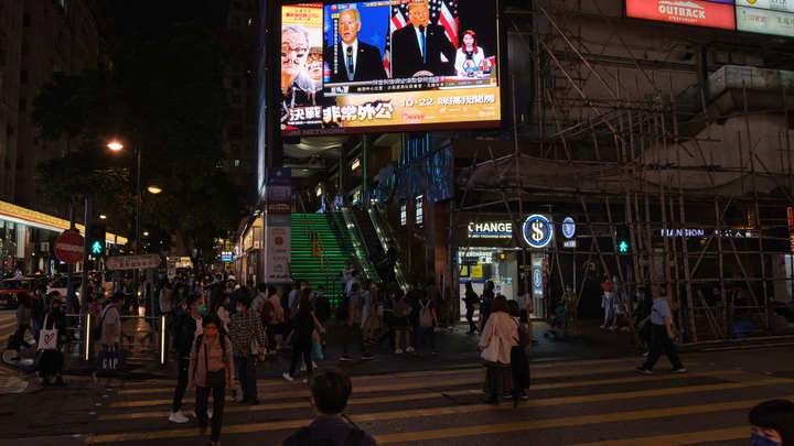 В Пенсильвании за ночь пропали 2% подсчитанных голосов: Последние итоги выборов президента США