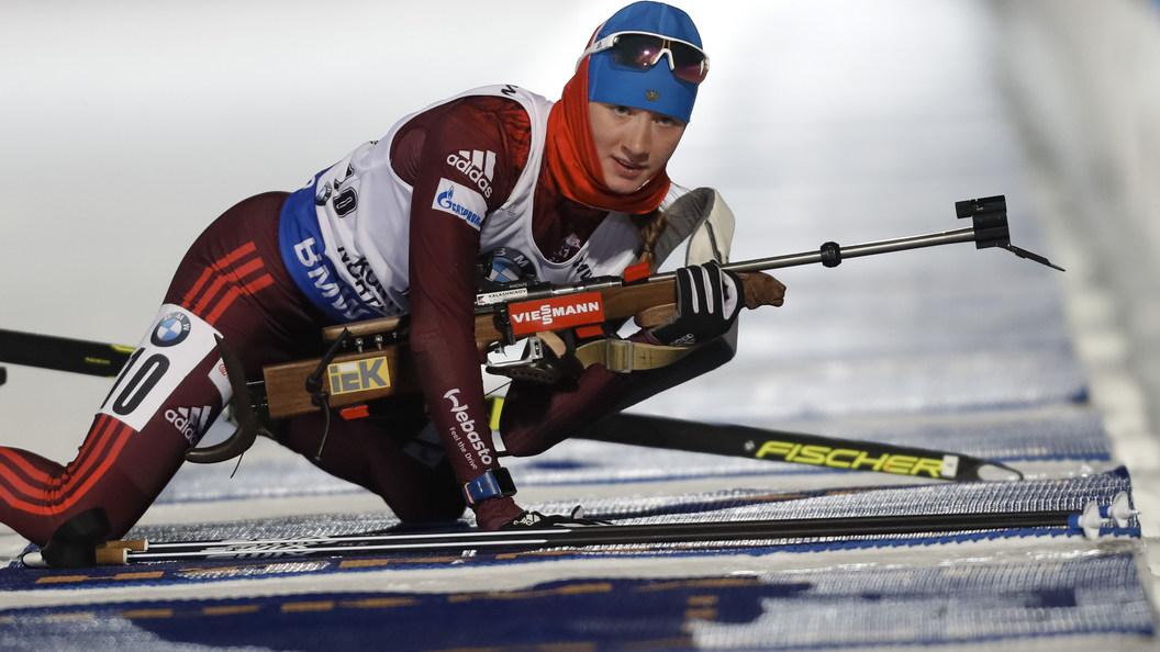 Русские биатлонистки впервый раз вистории остались без наград наКубке мира